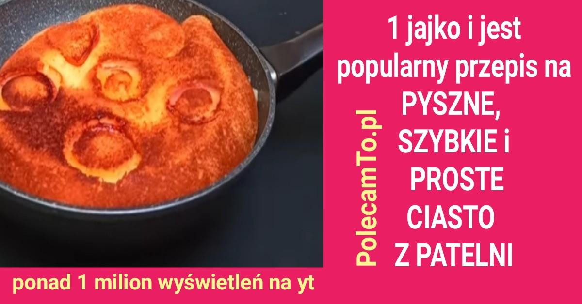 PolecamTo.pl-ciasto-z-patelni-1-jajko